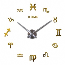 Home Letters Constellation Design Oversize Wall Clock