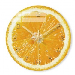 Fresh Fruit Design 12 inches Promotion Wall Clocks