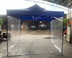 Promotional outdoor sporting polyester trade show tent